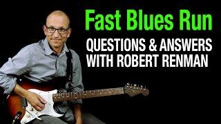 Fast blues run - Q & A with Robert Renman
