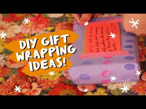 🎄 5 Book Gift Wrapping Ideas! with Rosianna