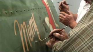 Replicating Memphis Belle nose art