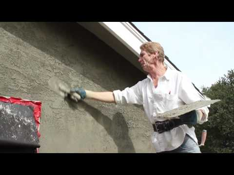 Skip Troweling Plastering With Cement Plaster