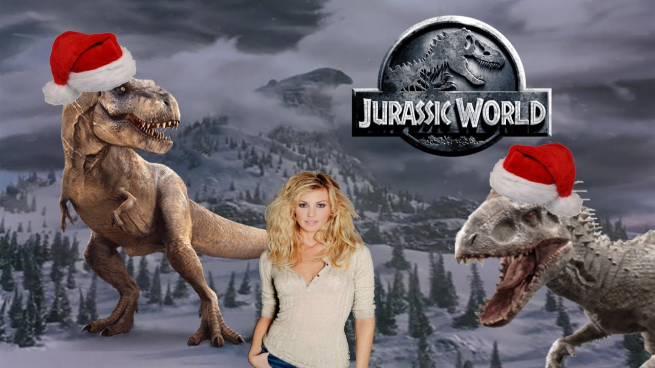 Jurassic World Where Are You Christmas - YouTube