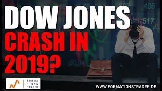 Analyse Dow Jones: Crash-Potential im Jahr 2019