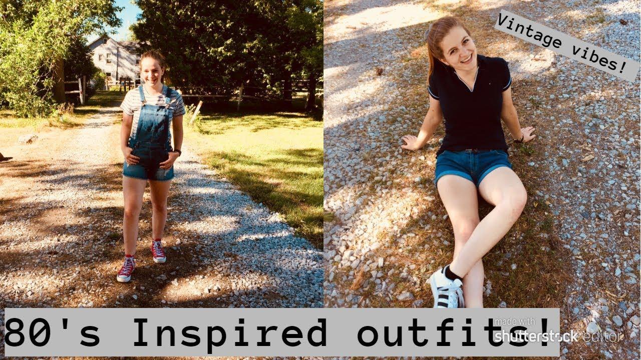 [VIDEO] - 80's Inspired Summer Fashion Lookbook!   2018 2