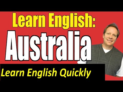English Listening Lesson from a 360 Degree Video about Australia: Great Travel English Vid!