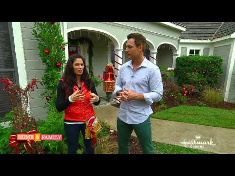 Outdoor Christmas Lights Tips - DIY by Tanya Memme (As Seen on Home & Family on Hallmark Channel)