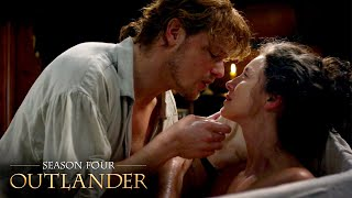 Claire and Jamie's Romantic Bathtime | Outlander