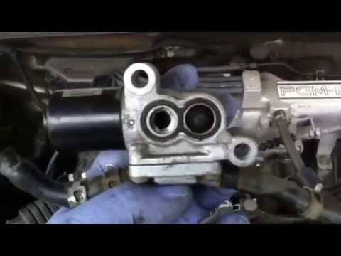 1990 honda accord iacv (idle air control valve) youtube