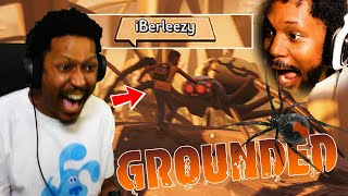 COLLAB OF THE YEAR! BERLEEZY AND ME VS SPIDERS | Grounded