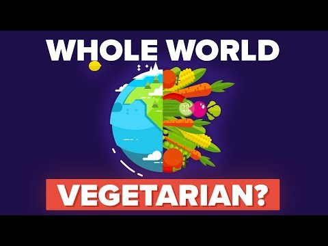 What Would Happen If the World Suddenly Became Vegetarian?