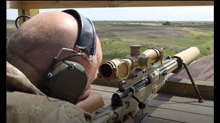 Finskyttens våben til at bekæmpe mål 2 km væk