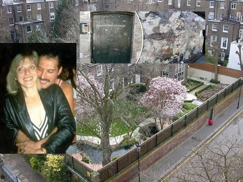 Freddie Mercurys Garden Lodge. Former Girlfriend - Mary Austin - removed the fans Shrine!