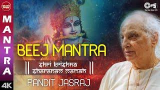 Krishna Beej Mantra   Pandit Jasraj   Shri Krishna Mantra   Krishna Song   Krishna Mantra