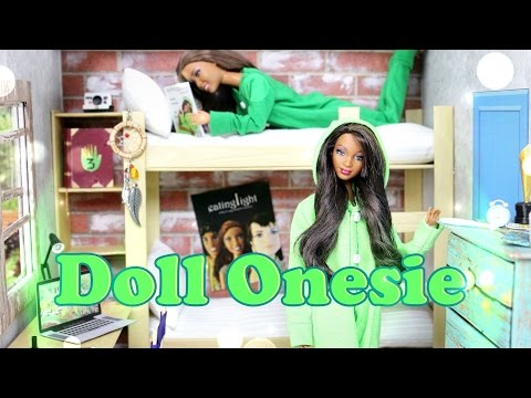 DIY - How to Make a Doll Onesie - Handmade - Doll - Crafts