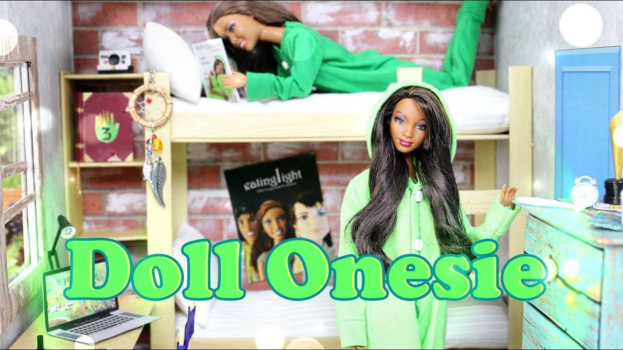 Diy How To Make A Doll Onesie Handmade Doll Crafts Youtube