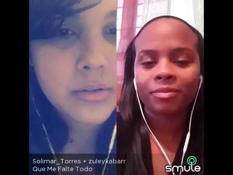Zuleyka Barreiro _ Solimar Torres  Que me falte todo!! 🙌🙏