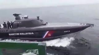 Viral, Kapal Patroli Indonesia Dikejar oleh Kapal dan Helikopter Milik Tentara Malaysia