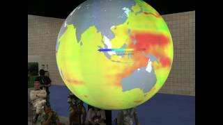 Science on a Sphere: The Impacts of Climate Change: What Do They Mean to You?