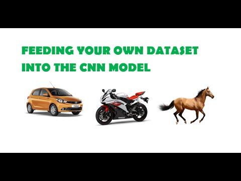 Feeding your own data set into the CNN model in Keras