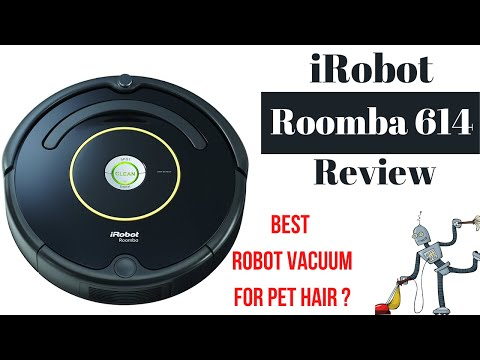 iRobot Roomba 614 Review|Best robot vacuum 2020 pet hair|How to use Roomba|How to setup, demo, clean
