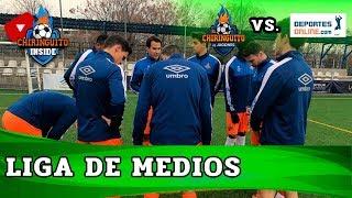 EL CHIRINGUITO VS. DEPORTES ONLINE | LIGA DE MEDIOS | Jornada 3 Fase de grupos | Chiringuito Inside