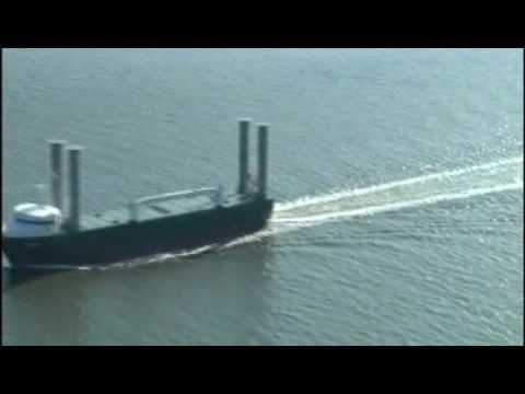 E Ship 1 Der Firma Enercon Youtube