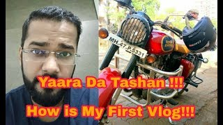 Royal Enfield Bullet, Beard Shaping by Laser & My Attitude - Best Vlogger in India