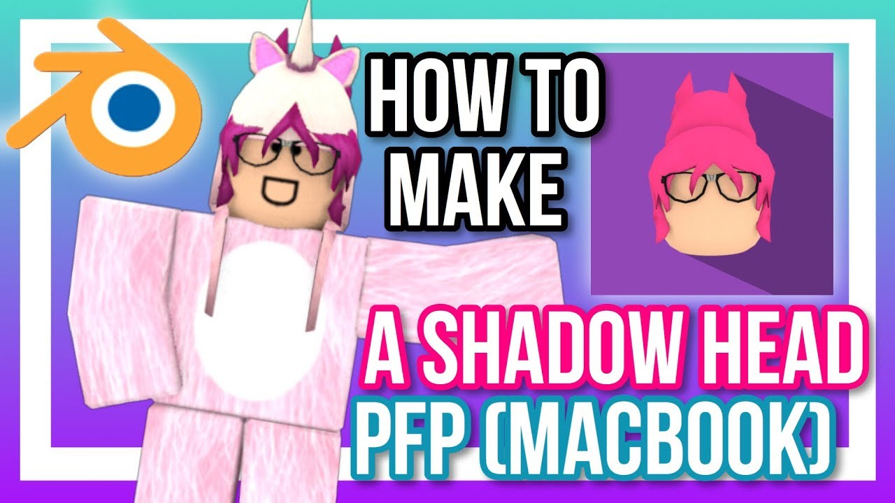 How To Make A Shadow Head Pfp For Macbook Youtube