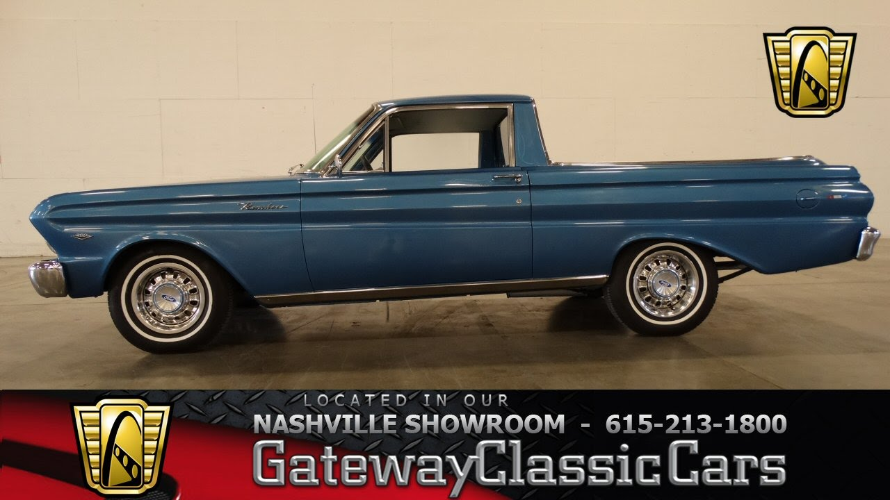 1965 ford falcon ranchero gateway classic cars of nashville 12 youtube
