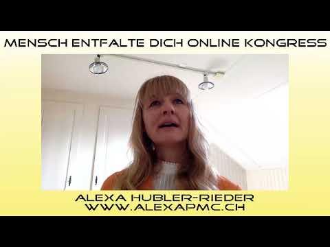 Online Kongress, 4.17, Interview 32 - Alexa Hubler Rieder, Lötschentaler Medium
