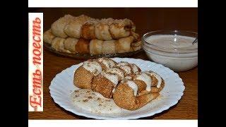 Ореховые блины  с кремом - самые вкусные!