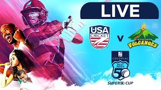🔴LIVE USA vs Windward Islands | Colonial Medical Insurance Super50 Cup