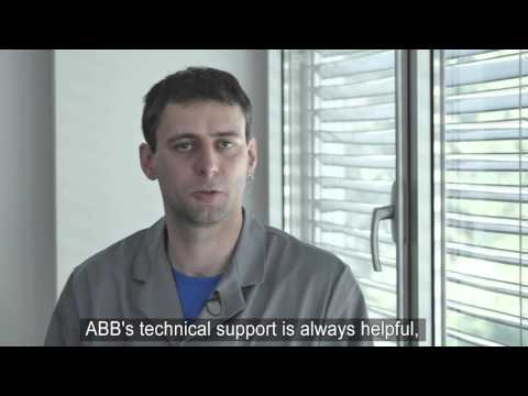 ABB Robots in LTH's high-pressure die-casting plant