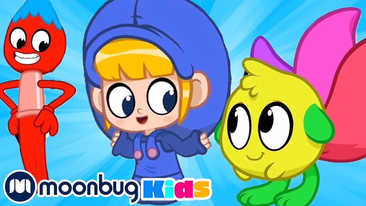 Morphle The Paintbrush | My Magic Pet Morphle | Morphle TV Cartoons | Moonbug Kids