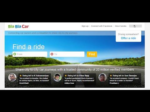 Blablacar: find a Share Ride or Offer Ride