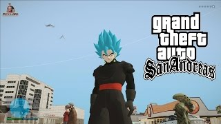 GOKU BLACK FUSION POTARA GOKU SUPER SAYAJIN BLUE SKIN V2 GTA SA FULL HD 1080p60