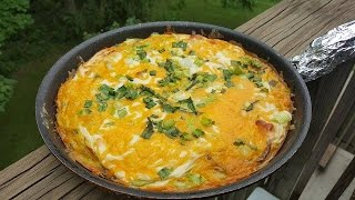 Sausage, Potato And Pepper Frittata