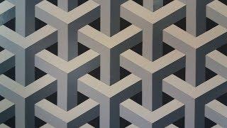 Pintura Decorativa Efeito 3D Passo a Passo