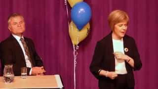 Nicola Sturgeon Q&A in Kirkwall, Orkney