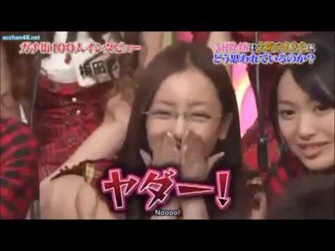 AKB48 100 People Voting Naruhodo High School (english Sub) Part 1