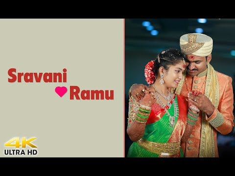 Two become one SRAVANI weds RAMU Wedding Highlights |4k | TheBestPic | Bhimavaram