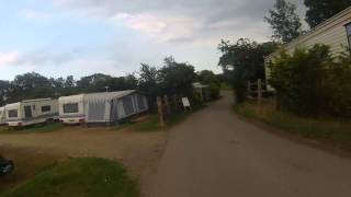 Tour of Herston Campsite, Swanage Dorset on the bikes, home for 5 days