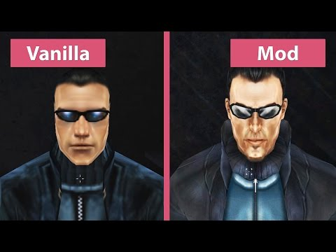 Deus Ex – Vanilla vs. Revision Mod Graphics Comparison [FullHD][60fps]