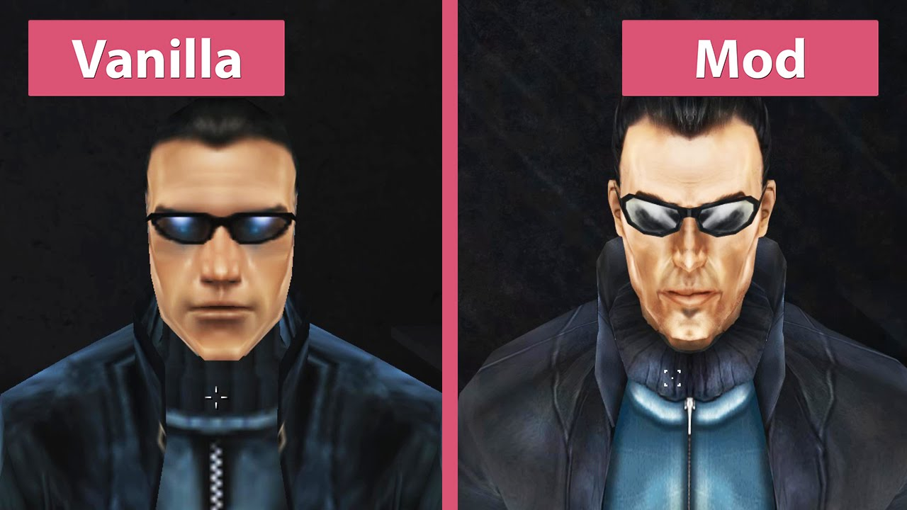 Vanilla Vs. Revision Mod Graphics Comparison