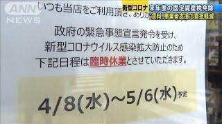 事業者側の賃料を支援 貸す側の固定資産税を免除(20/04/13)
