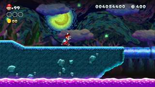 New Super Mario Bros. U - World 9 Superstar Road - All 9 Levels (All Star Coin Locations)
