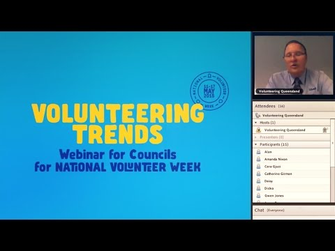 Volunteering Trends - Webinar for Councils