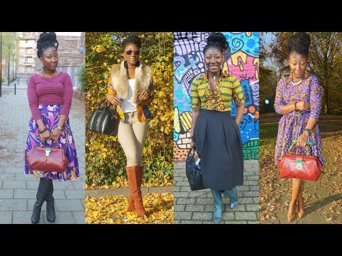 Holidays Lookbook || African (Ankara Outfit) Inspired.