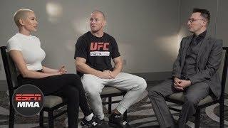 Brittany Churchill, Misha Cirkunov discuss her battle with cancer | ESPN MMA