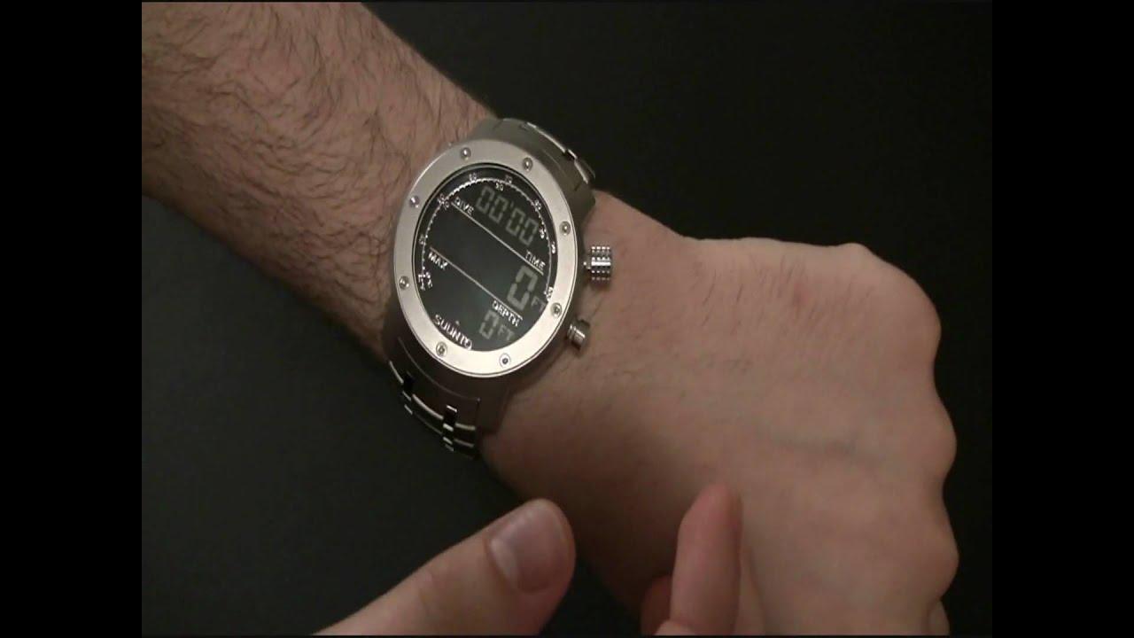 Suunto elementum aqua watch review youtube for Aqua marine watches