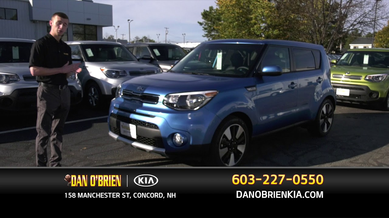 2018 kia soul manchester nh all about the 3 trim. Black Bedroom Furniture Sets. Home Design Ideas